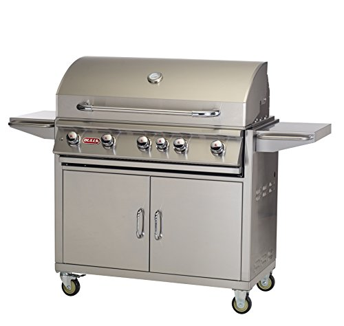 Bull Outdoor Products BBQ 55001 Brahma 90,000 BTU Grill with Cart, Natural Gas Bull
