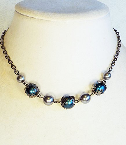 Faux Hematite Necklace (Cynthia Lynn