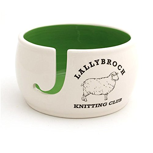 - Lallybroch Knitting Yarn Bowl