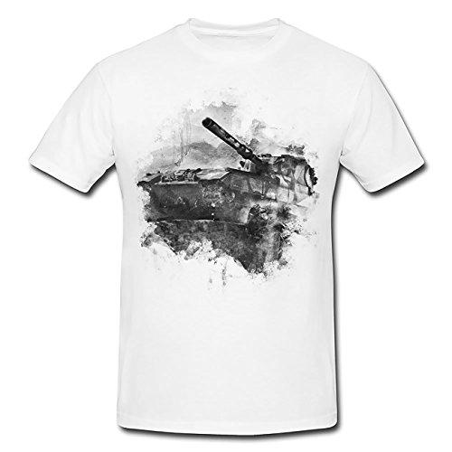 World of Tank T-Shirt Herren, weiß mit Aufdruck