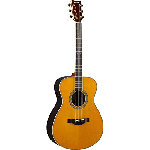 (Yamaha LS Transacoustic Jumbo Concert Acoustic-Electric Guitar Vintage Natural )