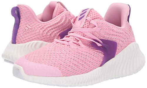 Adidas Kids Alphabounce Instinct, true pink/active purple/cloud white 1 M US Little Kid by adidas (Image #6)