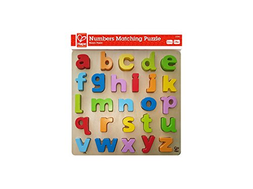 Hape Lowercase Alphabet Wooden Toddler product image