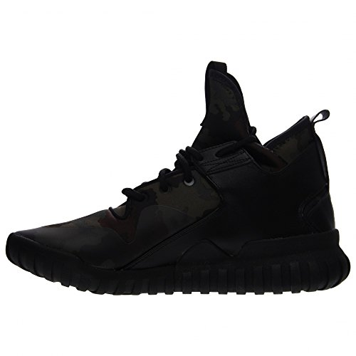 Scarpe Da Uomo Adidas Tubular X (core Black / Dark Brown) B25700 (11.5)