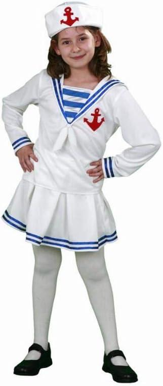 Disfraz niña Marinera - talla 7 - 9 años: Amazon.es: Juguetes y juegos