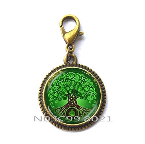 Celtic Knot Pull - maoqunza Celtic Tree of life Zipper Pull, Celtic knot Zipper Pull, Celtic Tree Zipper Pull, Irish Jewelry Unique Zipper Pull, Scandinavian Celtic Pendan, men's Zipper Pullt.XT159 (B)