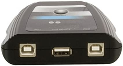 IberiaPC - Conmutador manual USB 2. 0- 2 x PC a impresora.: Amazon ...