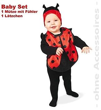 "Baby-Kostüm /""Marienkäfer/"" 2-tlg."