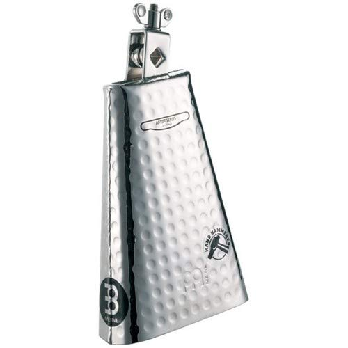 Meinl Percussion KA80S Kenny Aronoff Signature Hand Hammered Steel Cowbell With Chrome Finish, 8-Inch by Meinl Percussion