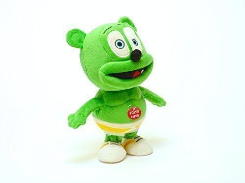 ToyKidz Gummibär Running & Singing Gummy Bear Plush Toy, 9-Inch -