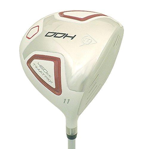 DUNLOP New DDH 11° 460cc Driver Graphite 55 Gram Regular Flex TiMatrix - Irons Dunlop Golf