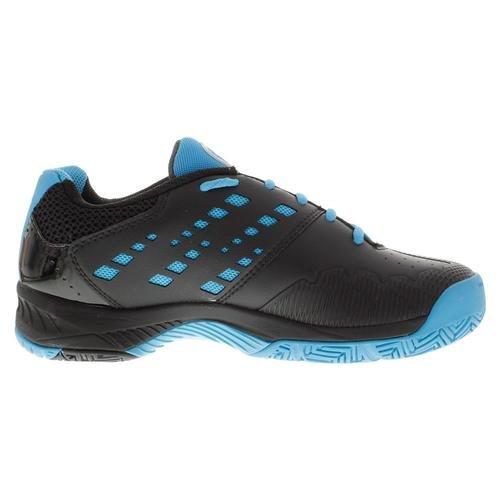 Yonex Mens Power Cushion Fusion Rev Tennis Shoes Black And Sky Blue- (stfr-s15)