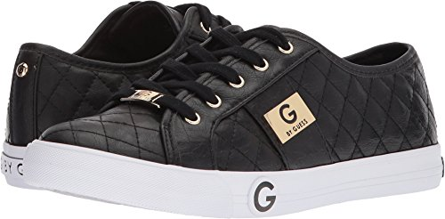 G by GUESS Byrone Quilted Fashion Sneakers, Black, 7 US