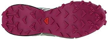 Salomon Women's Speedcross 3 Cs W Trail Running Shoe, Light Ttlucite Greenmystic Purple, 5 B Us 2