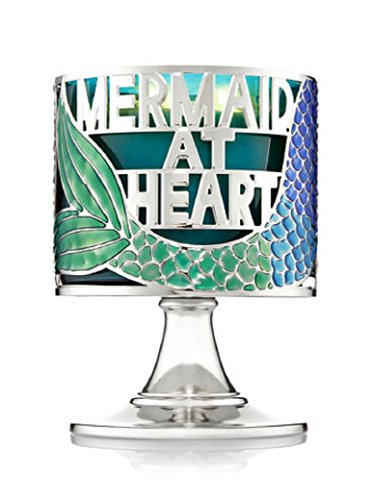 - Bath & Body Works Pedestal 3 Wick Candle Sleeve Mermaid At Heart