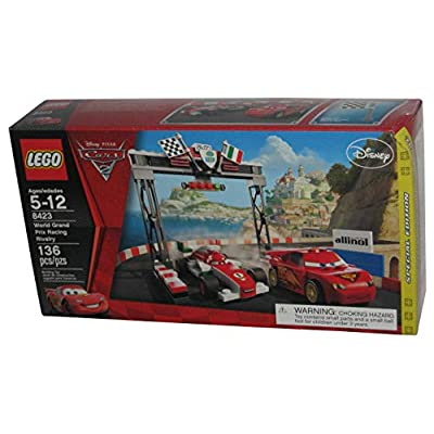 LEGO Disney Cars Exclusive Limited Edition Set #8423 World Grand Prix Racing Rivalry: Toys & Games