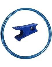 PTFE TUBE 3D-printer PTFE FILAMENT 1.75mm PU Teflon Tube met Slice Tool voor 3D-printer Blauwe accessoires Tool Levert