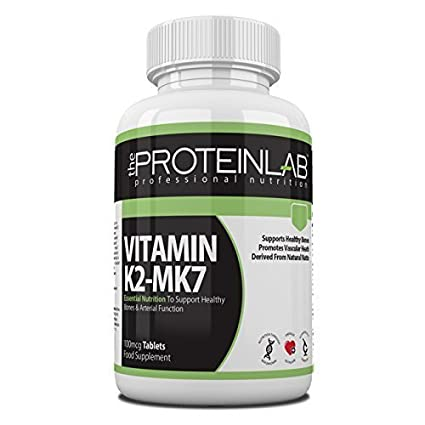 Vitamina K2 (MK7) VEGETAL PASTILLAS derivados de Natural Natto 100mcg fabricado en RU -