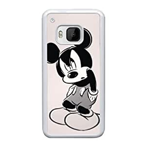 HTC One M9 Cell Phone Case White Disney Mickey Mouse Minnie Mouse AS7YD3575182
