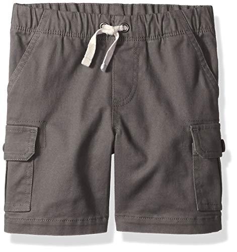 Amazon Essentials Toddler Boys' Cargo Short, Castlerock 4T