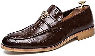 LOVDRAM Chaussures Hommes Automne Rétro Ensembles De Pieds Pointus Chaussures De Sport Mode Grandes Tailles Chaussures Basses Hommes Chaussures De Travail LOVDM