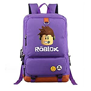 Asdfnfa Backpack, Game Peripheral Men and Women Casual Knapsack Light Travel Package Computer Packet Student (Color : Purple)