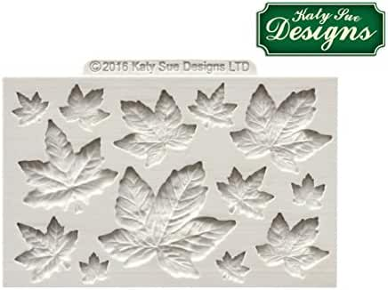 Katy Sue Design Mat Fondant Cake Icing Air Drying Clay Craft Mould - Maple Leaves