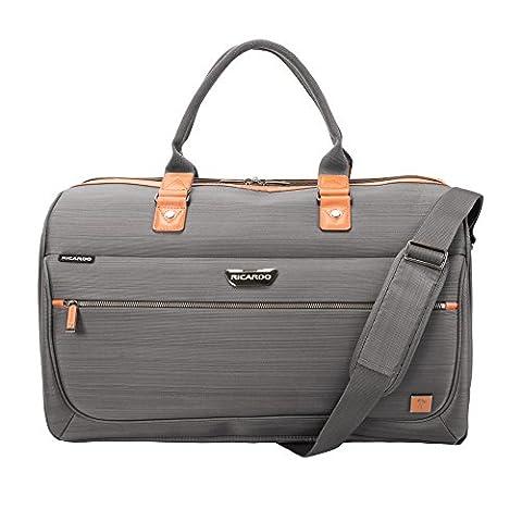 Ricardo Beverly Hills San Marcos 20-inch Duffel Bag, Gray (Last Kings Pouch)
