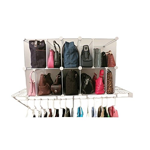 Luxury Living Deluxe Shelf Organizer - (Best Purse Organizer Reviews)