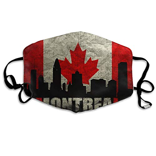 Anti Dust Mask Montreal Architecture Anti Pollution Washable Reusable Mouth Masks