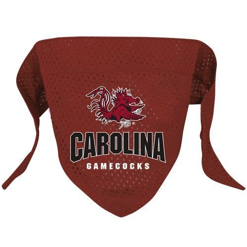 Hunter Sports Fan NCAA South Carolina Gamecocks Dog Bandana Mesh Small
