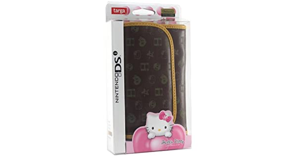 0fcd6ab67c54 ... Amazon.com Hello Kitty Monogram Pouch DSi (Brown) Video Game super  popular dcea0 ...