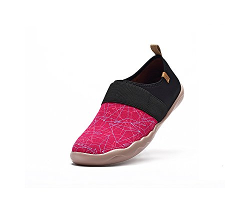 Pyramid Women's Pink On Painted Shoe Canvas UIN Slip Fqng5wCFS