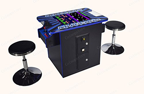 Professionally Made Commercial Quality LED JAMMA Ready Vertical Cocktail Arcade Cabinet. Plug and Play Any JAMMA Board! by Proarcades, LLC