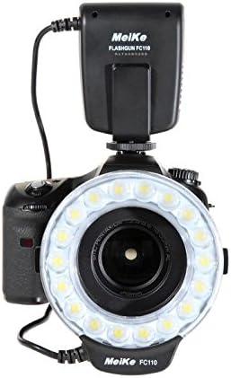 Meike - Flash de Anillo Macro para cámaras réflex Olympus: Amazon ...