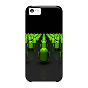 NikRun Iphone 5c Well-designed Hard Case Cover Droid Army Protector