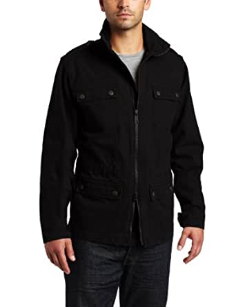 Carhartt Men's Series 1889 Jacket Unlined,Black  (Closeout),Small