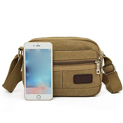 Bags Casual Handbag Men's Bag Shoulder Cool Travel Fashion Robemon Women Crossbody Canvas Messenger Satchel HAP0n