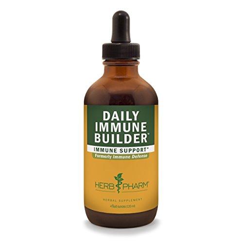 Herb Pharm Daily Immune Builder Herbal Immune System Defense - 4 (Immune Defense System)