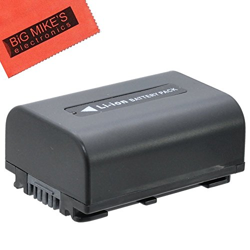 BM Premium NP-FV50 Battery For Sony FDR-AX53, HDR-CX675/B, HDR-CX455/B, HDR-CX220, CX230, CX290, CX330, CX380, CX430V, CX900, PJ200, PJ230, PJ340, PJ380, PJ430V, PJ540, PJ650V, PV790V, PJ810, HDR-TD30V, FDR-AX100 Handycam Camcorder