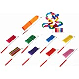 SunbowStar Gym Dance Ribbon Rhythmic Gymnastic Streamer Rod Baton Twirling