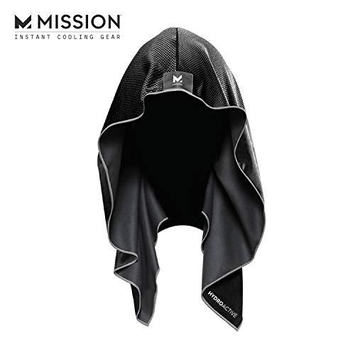 🥇 Mission Athletecare Misión Enduracool refrigeración Sudadera con Capucha
