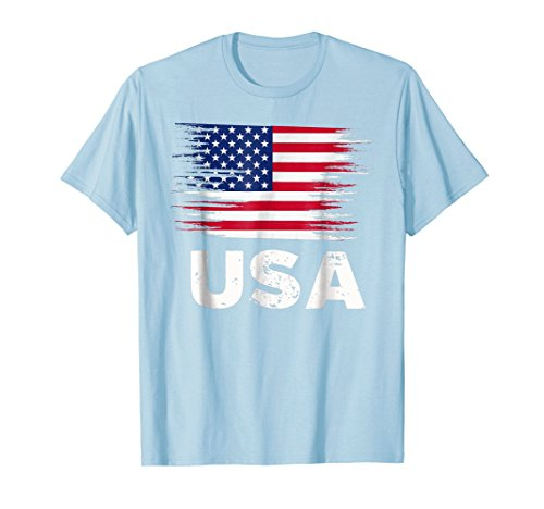 - USA - American Flag Shirt | Sports Soccer Football Gift