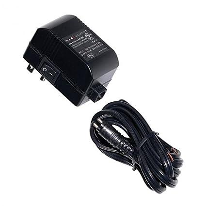 wac lighting en 1260 p ar bk electronic transformer 120v 12v 60w rh amazon com 480V Transformer Wiring Diagram Multi-Tap Transformer Wiring Diagram