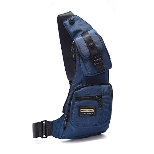 [Black Friday Deals] DDDH Small Sling Bags Chest Pack One Shoulder Bag Crossbody Backpack for Travel Air Hiking Daily 1 Chest Pack