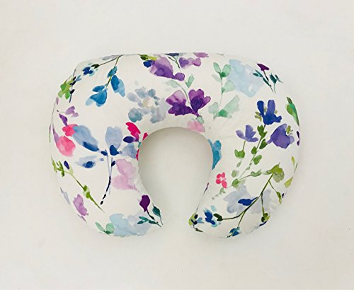 Nursing Pillow Cover - Bright Wildflowers by Lullabies and Lollipops