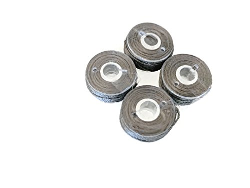 4 Pack of Stainless Steel Conductive Thread. 16 Feet Each. for Large Eye Hand Stitch Needle by Assurance