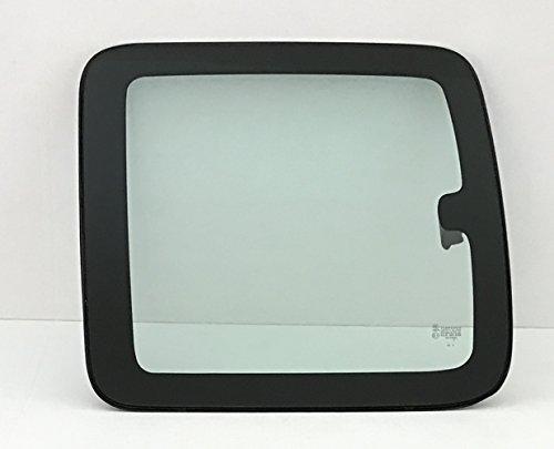 1999-2006 Chevrolet Silverado (C1500 C2500 C3500 K1500 K2500 K3500) 2 Door Extended Pickup Driver Side Left Rear Quarter Glass Window Movable w/ Frame & Latch Clear