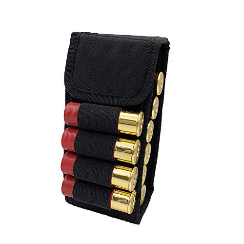 Binboll MOLLE Bullets Bag 16 Rounds Shotshell Nylon Accessory Bag for Belt Waistband Magazine Pouch