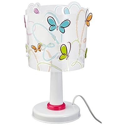 Lámpara Infantil de Sobremesa con Diseño de Mariposas